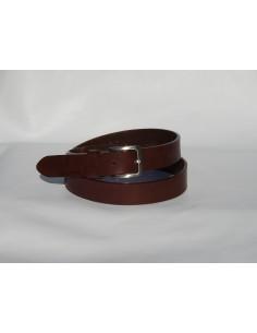 Cintura in cuoio di toro 3 cm