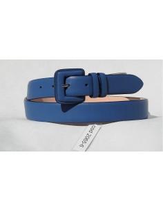 Cintura donna 3 cm fibbia fasciata