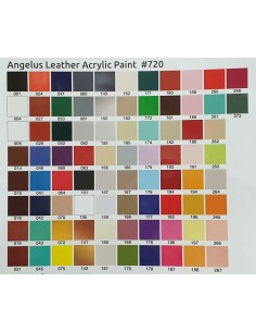 Angelus leather acrylic paint