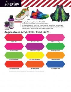 Angelus neon acrylic color