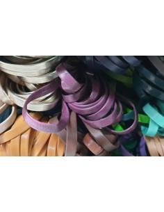 Cinturino pelle incollato 7 mm